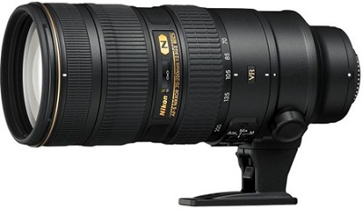 NIKKOR 70-200mm f/2.8G ED VR II Lens - OPEN BOX