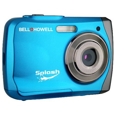 Splash WP7 12MP Waterproof Camera, Anti-Shake,  (Blue)