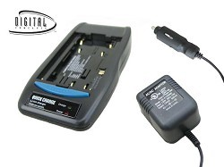 Universal AC/DC Battery Charger for Lithium Batteries (110/220v)