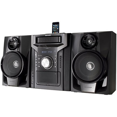 240W Mini Audio Shelf System iPhone & iPod Dock - CDDHS950P