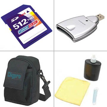 Bargain Accessory Kit for PowerShot SD20