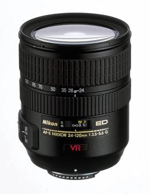 24-120mm F/3.5-5.6G ED-IF AF-S`VR` Zoom-Nikkor Lens W/ 5-Year Nikon USA Warranty