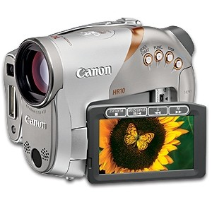 HR10 High-definition DVD Camcorder
