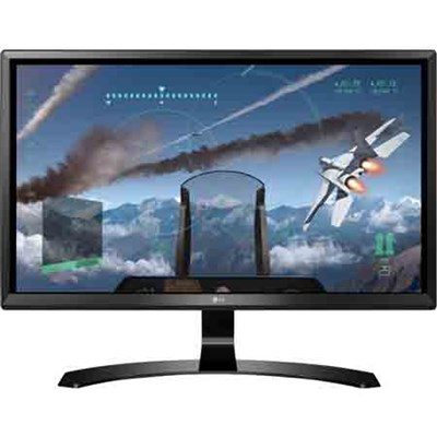 24UD58-B 24` 16:9 4K UHD (3840 x 2160) FreeSync IPS Monitor - OPEN BOX