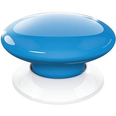 FGPB-101-6 US The Button, Z-Wave Scene Controller, Blue