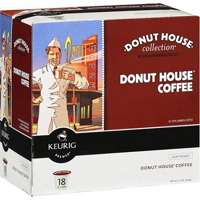 Donut House Collection K Cups, Donut House Coffee