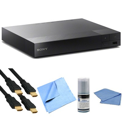 BDP-S5500 3D Streaming Blu-ray Disc Player with TRILUMINOS Technology Bundle