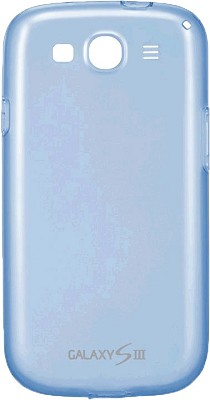 EFC-1G6WBEGSTA Galaxy S III Protective Gel Cover - Transparent Blue