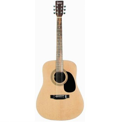 LA125N Dreadnought Acoustic Guitar - Natural