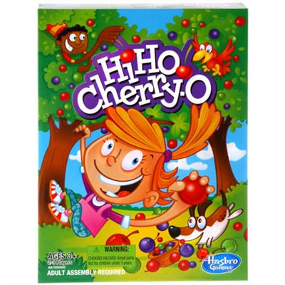 Hi Ho Cherry O Kids Classic Board Game