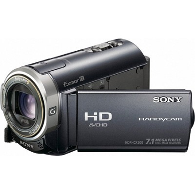 HDR-CX300 16GB Flash Memory  Handycam High Definition Camcorder