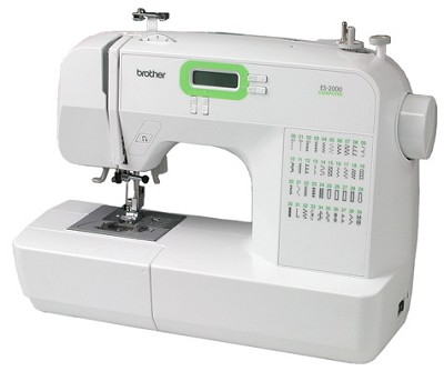 ES2000 77 Stitch Function Computerized Free Arm Sewing Machine