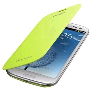 EFC-1G6FMEGSTA Flip Cover for Samsung Galaxy S III - Pebble Green