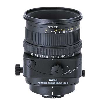 85mm F/2.8 PC Micro-Nikkor Lens, With Nikon 5-Year USA Warranty