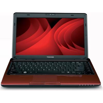 Satellite 13.3` L635-S3100RD Notebook PC - Red Intel Pentium P6200 Processor