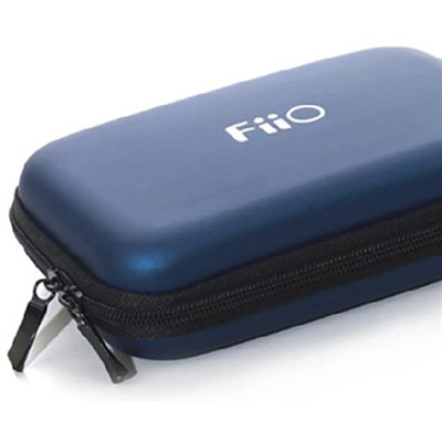 Hard carrying case for all portable FiiO players, amps, DACs - Blue - (HS7BLUE)
