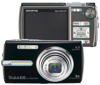 Stylus 830 Digital Camera (Black)