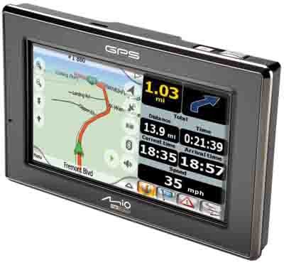 C720 Mobile GPS Navigation System w/ Integrated Camera & Bluetooth