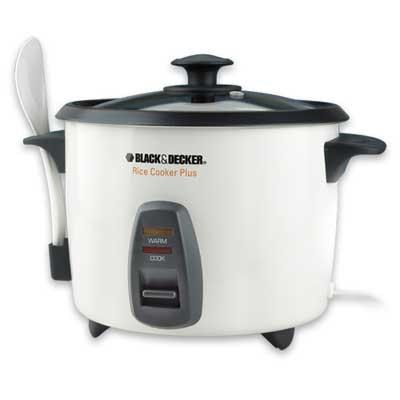 16-Cup Cooked Rice Cooker in White - RC436