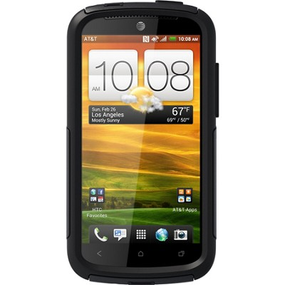 Commuter Series Case for HTC One VX - Retail Packaging - Black