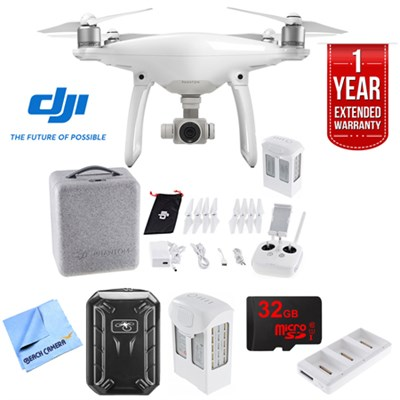 Phantom 4 Quadcopter Drone (CPT.PT.000312) with Ultimate Bundle