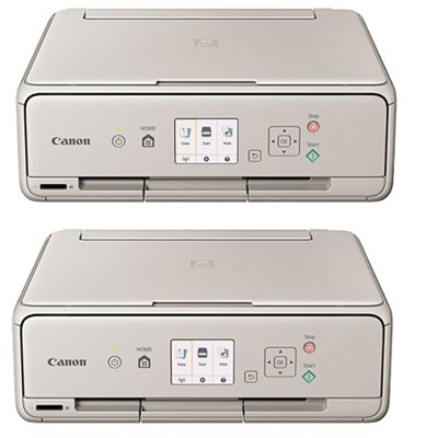 PIXMA TS5020 Wireless Color Photo Printer with Scanner & Copier (Grey) 2 Pack