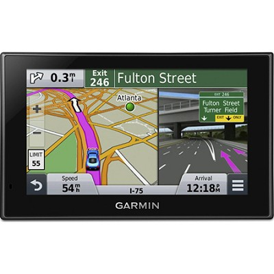 nuvi 2599LMTHD Advanced Series 5` GPS System, Lifetime Maps & HD Digital Traffic