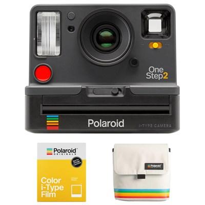 OneStep2 i-Type Instant Film Camera w/ Camera Bag + Color Film