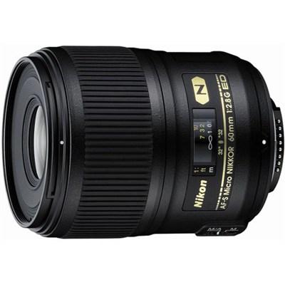 AF-S Micro-NIKKOR 60mm f/2.8G ED Lens - FACTORY REFURBISHED
