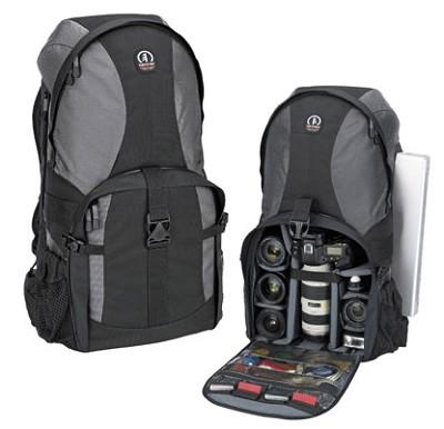 5550 Adventure 10 Photo/Laptop Backpack (Gray/Black)