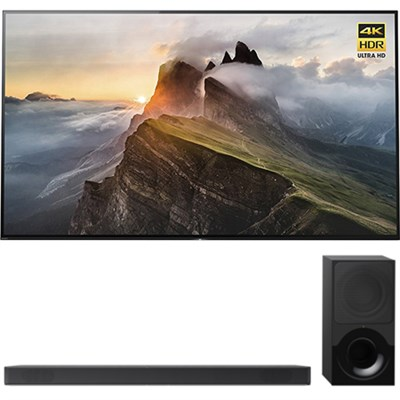 65` 4K Ultra HD Smart Bravia OLED TV 2017 Model + Sony 2.1ch Soundbar