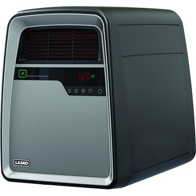 Cool-Touch Infrared Quartz Heater with Remote Control