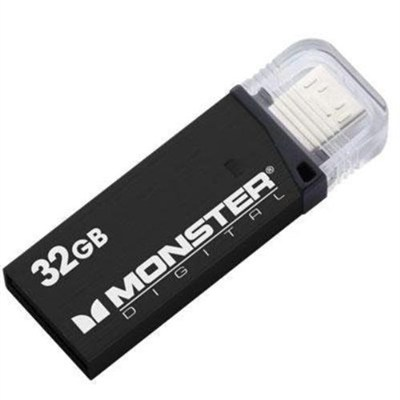 32GB OTG USB 3.0 Super Speed Mobile Drive (Metallic Black)