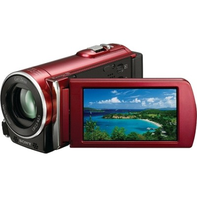 HDR-CX110 HD Handycam Camcorder (Red)