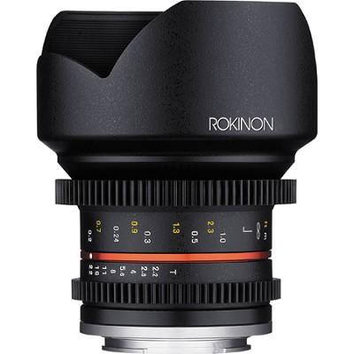 12mm T2.2 Cine Lens for Fuji X
