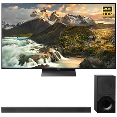 75-Inch Class 4K Ultra HD TV + Sony 2.1ch Soundbar
