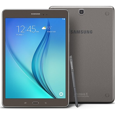 Galaxy Tab A SM-P550NZAAXAR 9.7-Inch W-Fi Tablet (Titanium with S-Pen)