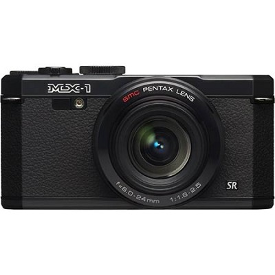 MX-1 12 MP Black Digital Camera with 3` LCD and 1080p HD Video - OPEN BOX