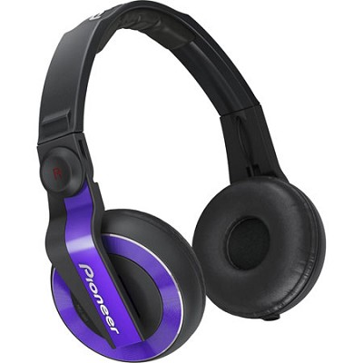 HDJ-500 DJ Headphones, Violet - OPEN BOX