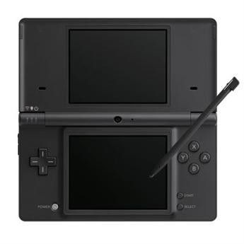DSi Portable Gaming Console - Matte Black