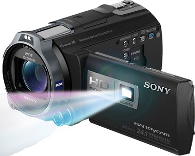 HDR-PJ710V 32GB HD Projector Camcorder 24.1 MP still with Geotagging