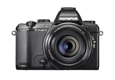 Stylus-1s 12MP Digital Camera - Black