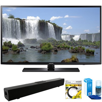 55-inch 1080p 120Hz Full HD LED Smart HDTV + Bluetooth Sound Bar Bundle