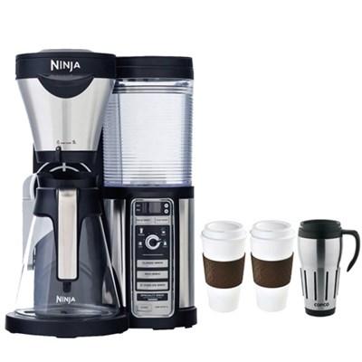 CF080 Coffee Bar Auto-iQ Brewer w/ Glass Carafe w/ Copco Reusable Mug Bundle