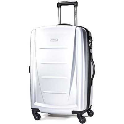 Winfield 2 24` Hardside Spinner Luggage (Silver)