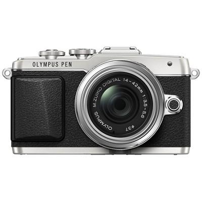 PEN E-PL7 Mirrorless Micro Four Thirds Silver Digital Camera w/ 14-42mm IIR Lens