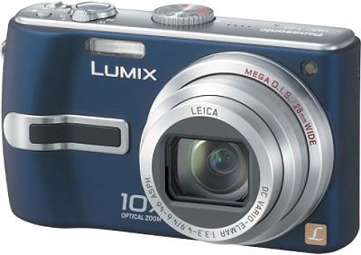 DMC-TZ3A Lumix 7.2 mega-pixel Digital Camera (Blue) w/ 10x Optical Zoom