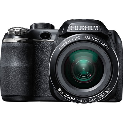 FinePix S4500 30x Optical Zoom 14 MP 3 inch LCD Digital Camera(S4800 Retail)