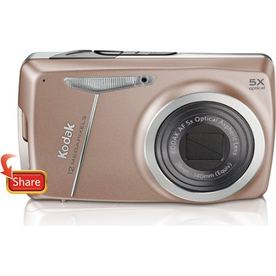 EasyShare M550 12 MP 2.7` LCD Digital Camera (Tan)