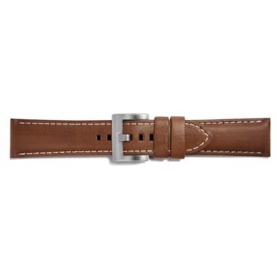 Gear S3 Nagano Leather Strap (22mm) - Medium Brown - GPR770BREEBAC